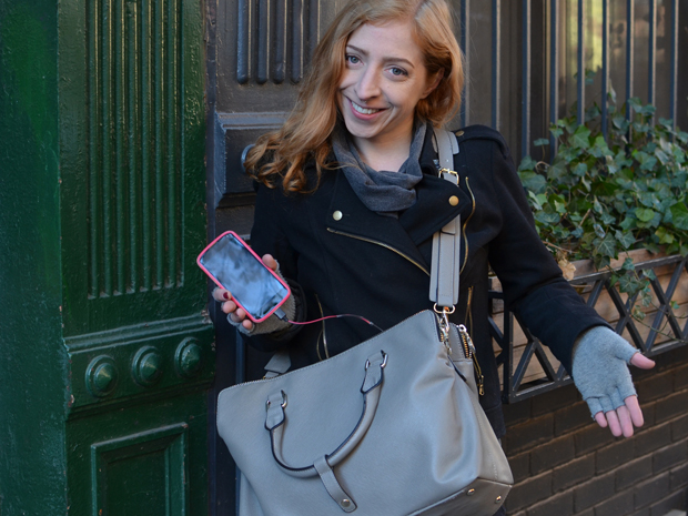 Inductive Phone Charging Purse