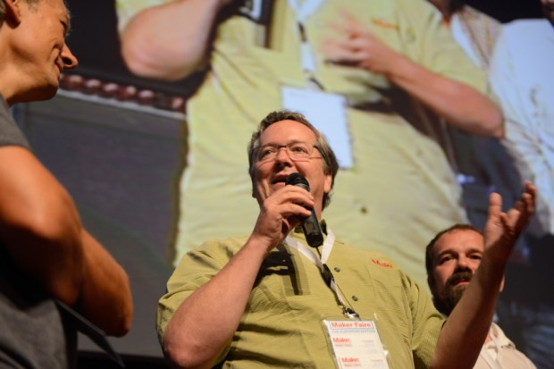 Dougherty speaks at Maker Faire Rome