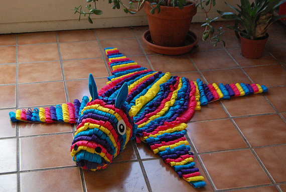 Faux-Taxidermy-Felt-Piñata-Rug-1