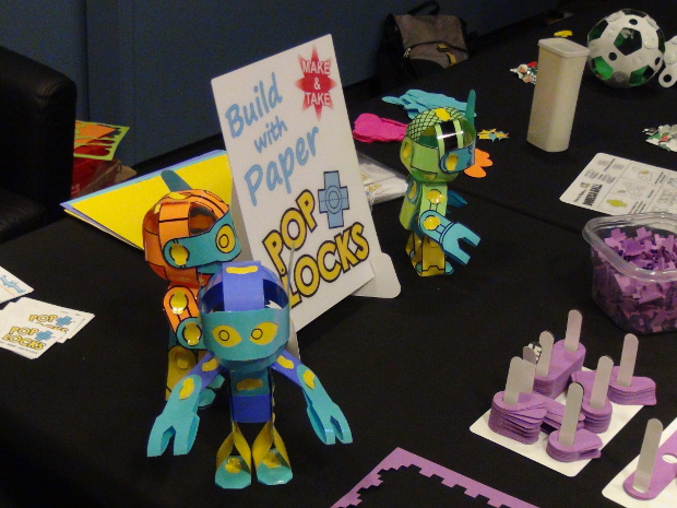 Paper Poseables Pop Locks (Created and Made in North Carolina)