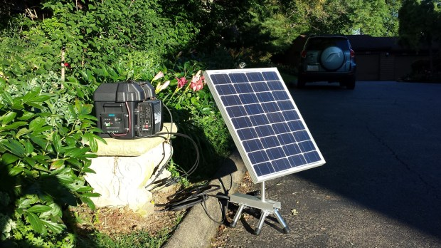 Tactical solar power is ideal for the zombie apocalypse, electrical grid failure and even camping!