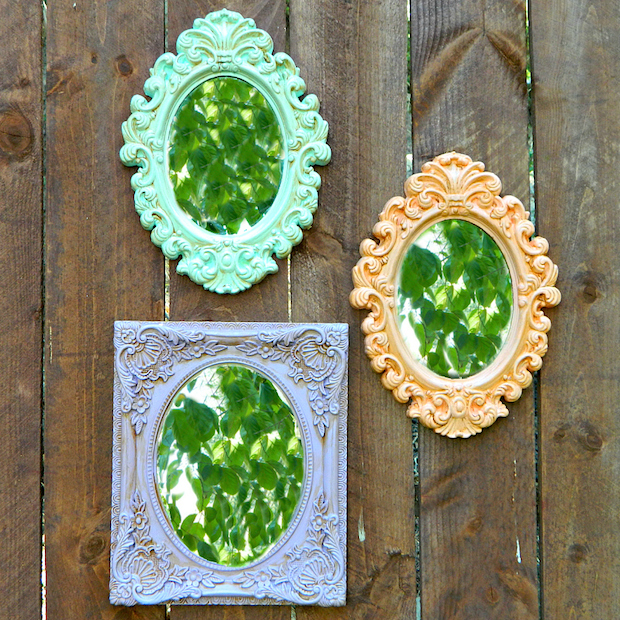 How To Dollar Store Picture Frame Makeover Make