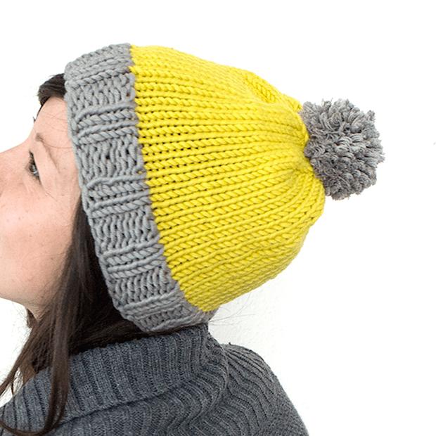 Simple Knitting Pattern For Bobble Hat : Knit It: Basic Bobble Hat Make: