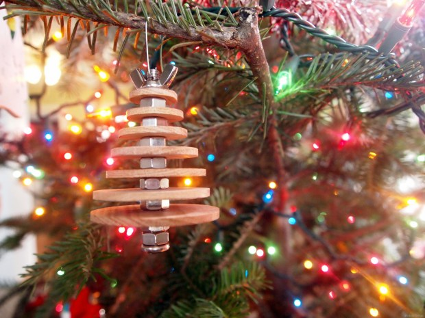 Diy Industrial Christmas Ornament Make