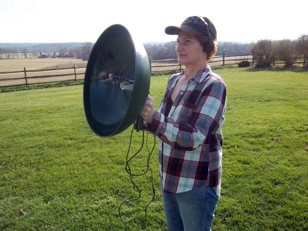 how to make a parabolic dish reflector