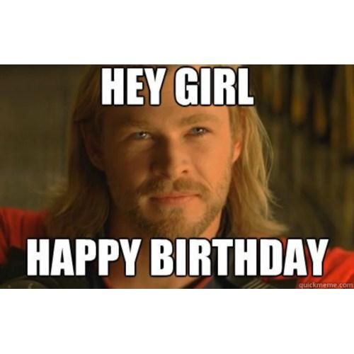 Medium Crop Of Happy Birthday Girl Meme