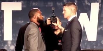 Tyron Woodley vs Stephen Thompson UFC 205 face-off