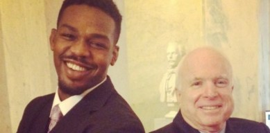 Jon Jones and John McCain