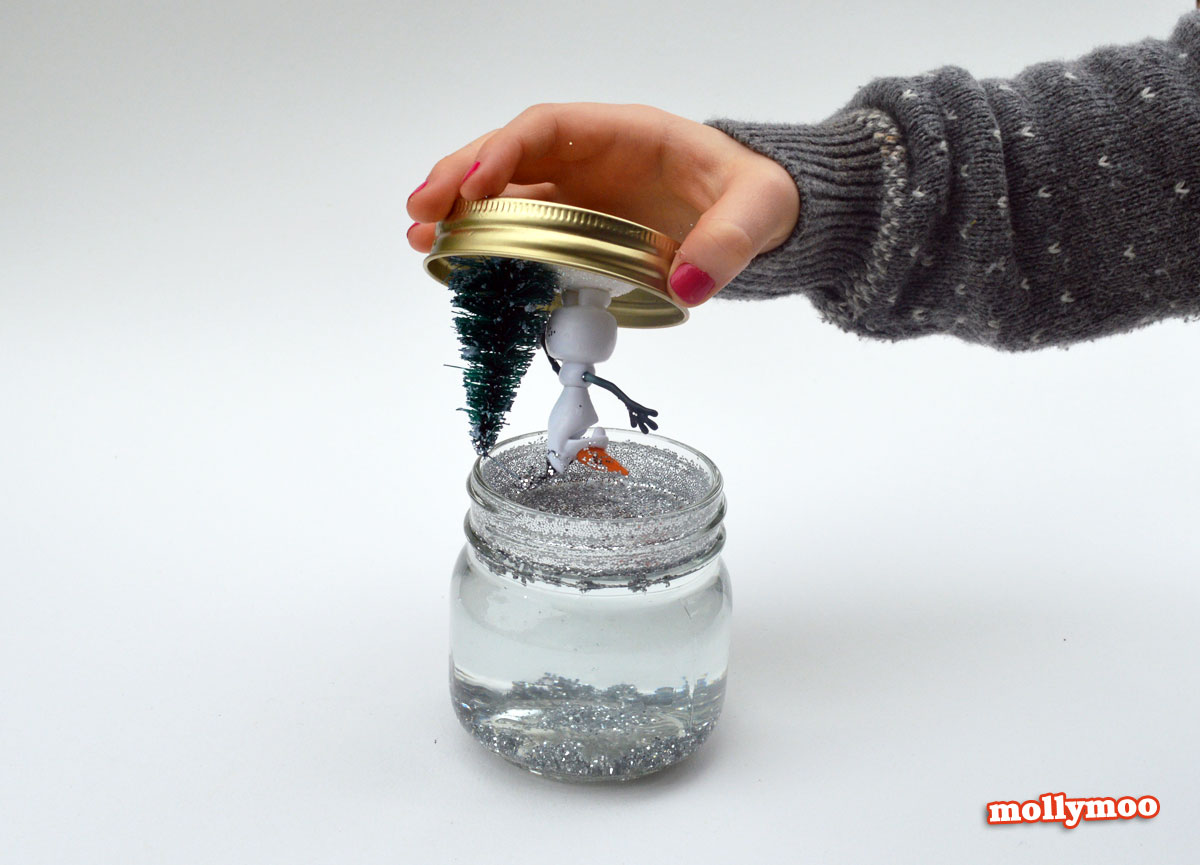 Fullsize Of Homemade Snow Globe