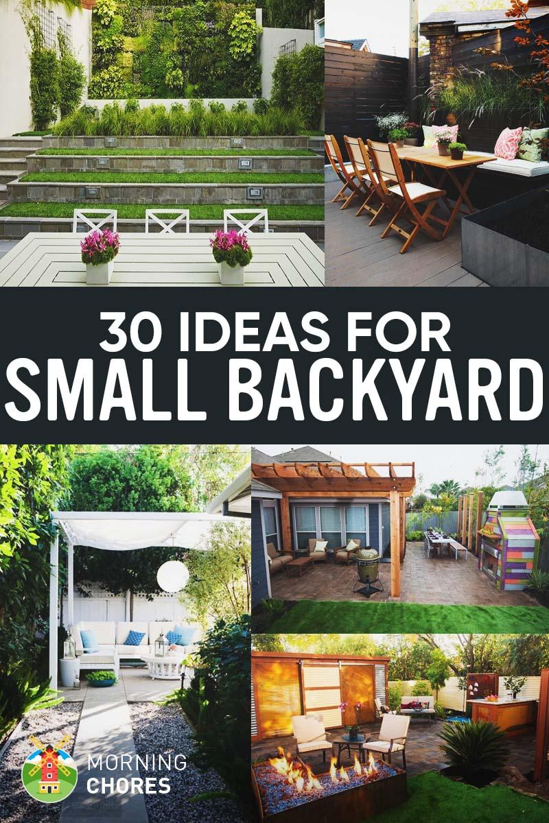Large Of Nice Small Backyards