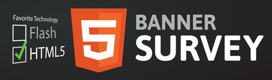 The GreenSock team has created quite a lot of animated SVG and HTML5 demos, including banners like this one, on its Codepen profile