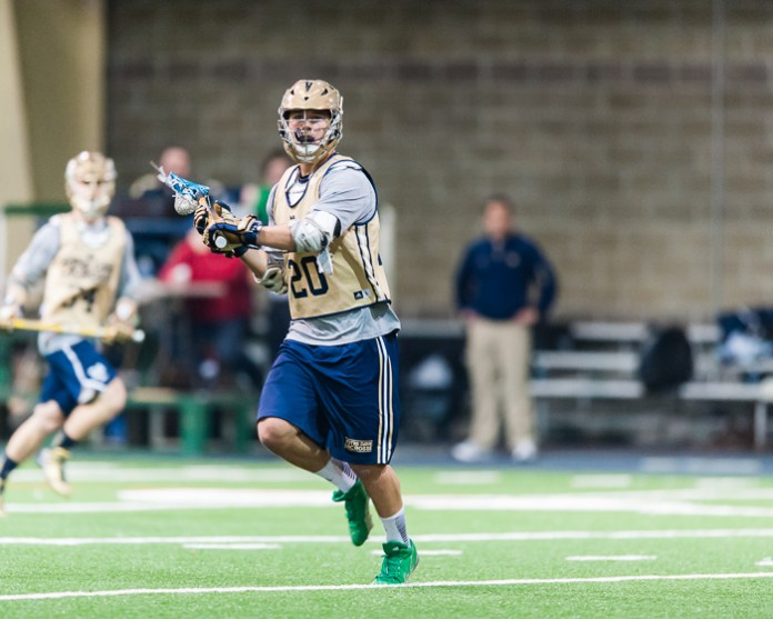 Men's Lacrosse Exhibition, By Zach Llorens