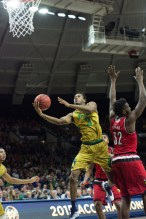20160213, 20160213, Caitlyn Jordan, Men's Basketball, ND vs Louisville, Purcell Pavilion-7