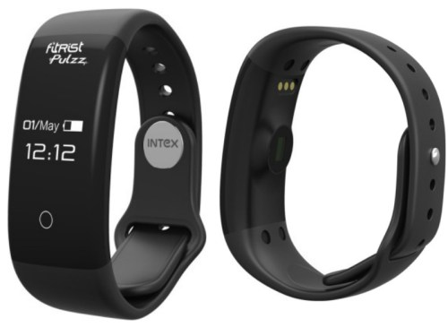 Intex FitRist Pulzz With Heart Rate Sensor Launched at Rs. 1,799
