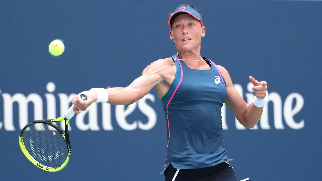 US Open results: Samantha Stosur loses to Caroline Wozniacki in first round | Daily Telegraph