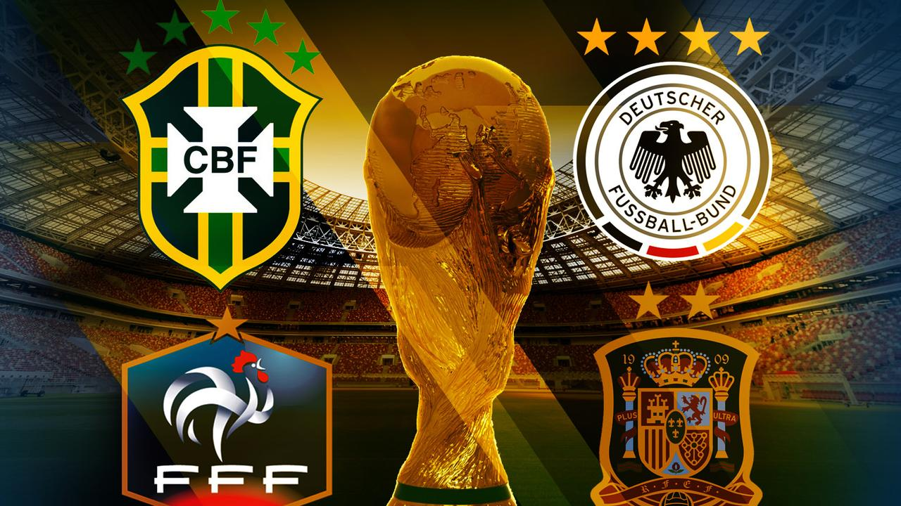 World Cup 2018  Who will win  favourites  odds   Fox Sports The teams that can actually win the 2018 World Cup