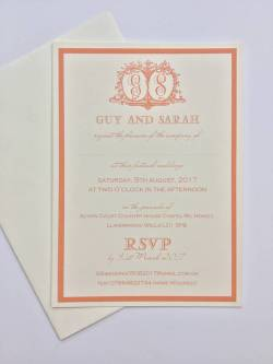 Brilliant Monogrammed Wedding Invitations Monogrammed Wedding Invitations By Claryce Design Wedding Invitations South Africa Wedding Invitations Templates