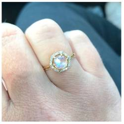 Small Crop Of Moonstone Engagement Ring