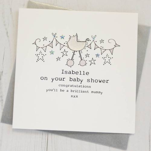 Medium Of Baby Shower Card