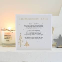 Stylish Verse Verses Cards To Print Personalised Across Miles Card Personalised Across Miles Card By A Touch Greeting Cards Verses