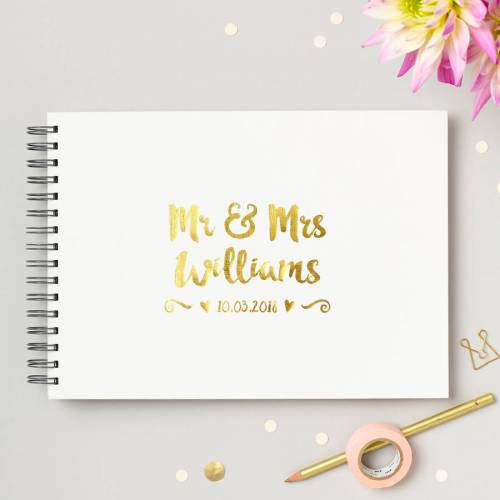 Medium Of Wedding Guest Book