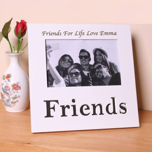 Medium Crop Of Friends Picture Frame