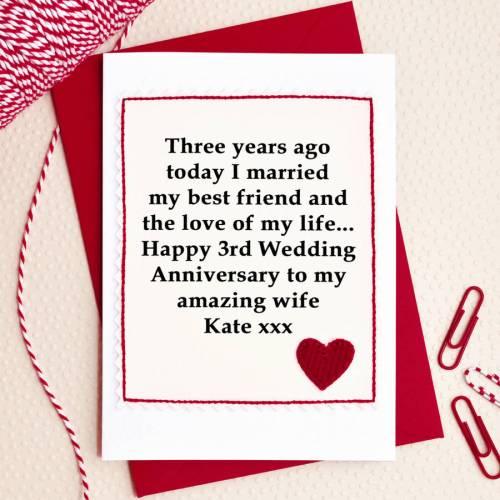 Medium Crop Of 3rd Wedding Anniversary