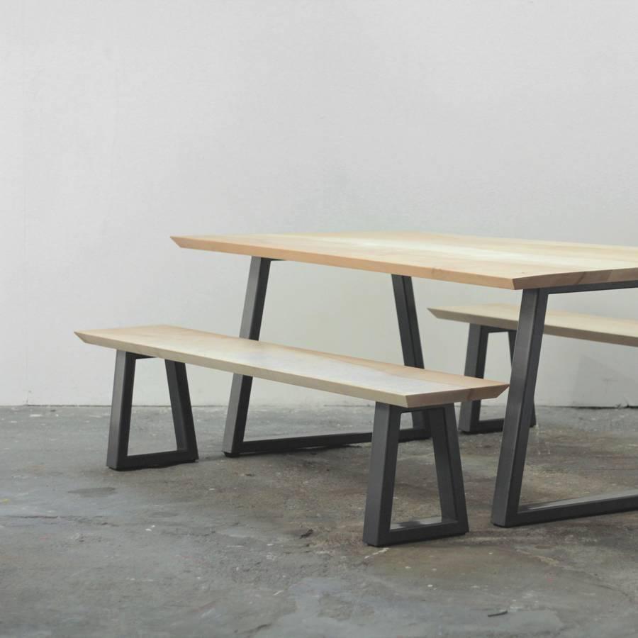 Fullsize Of Bench Dining Table