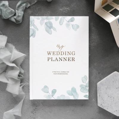 wedding planner book eucalyptus | engagement gift by blush ...