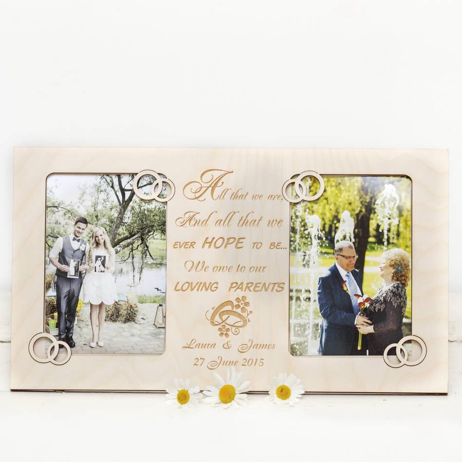 Supple Deceased Child Gift Bride Parents Parents Groom Parent Wedding Gift Personalised Photo Frames Parent Wedding Gift Personalised Photo Frames By Gift Store Gift gifts Gift For Parents