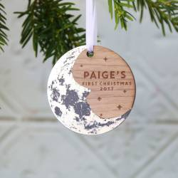 Gallant Moon Tree Ornament Moon Tree Ornament By Betsy Benn Ornament Uk Ornament Personalized