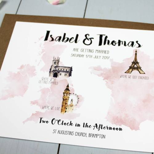 Medium Of Destination Wedding Invitations
