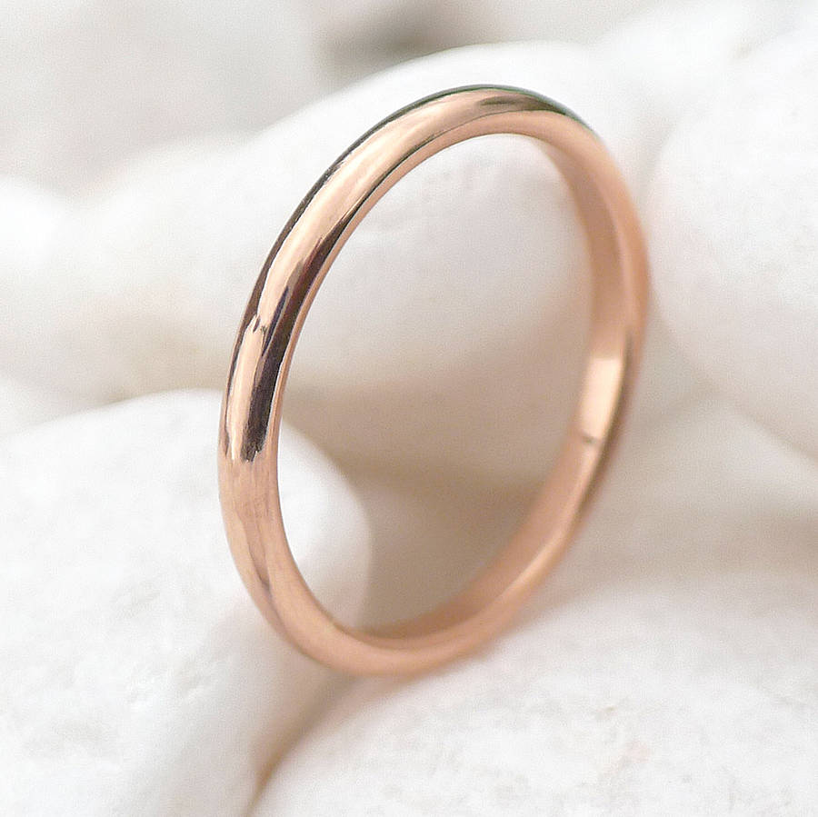 ethical 18ct rose gold wedding ring rose gold wedding rings Ethical 18ct Rose Gold Wedding Ring