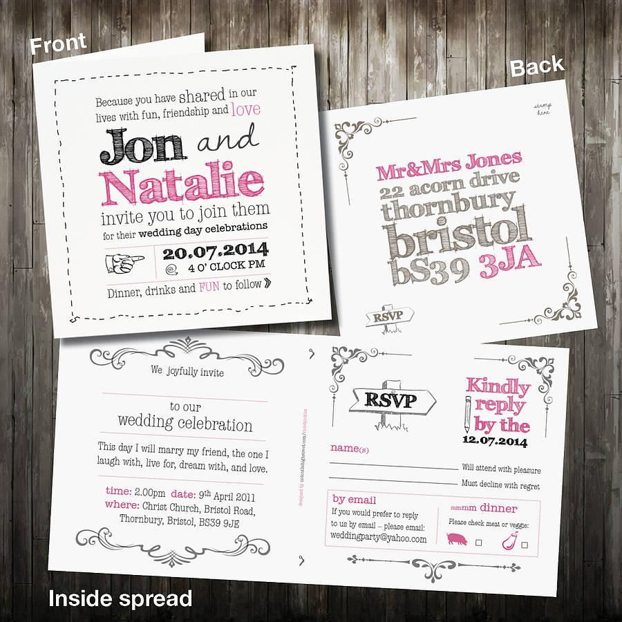 Fullsize Of Rsvp Wedding Cards