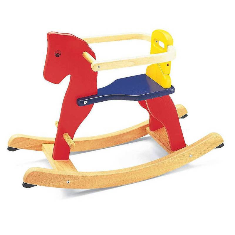 Large Of Wooden Rocking Horse
