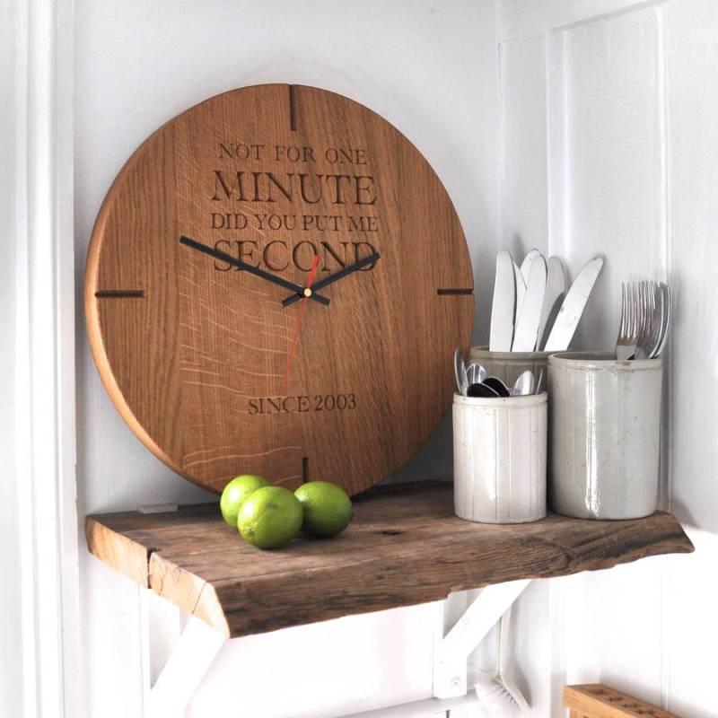 Large Of Unique Wooden Clocks