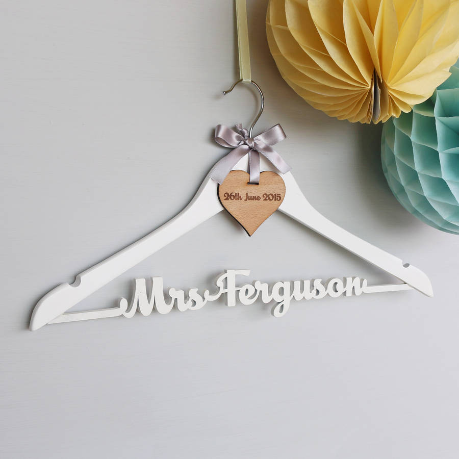 wedding dress hangers uk wedding hangers Bride Wedding Dress Hanger