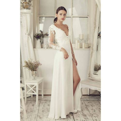 wedding dresses accessories pics of wedding dresses Long Sleeves Soft White Wedding Dress wedding dresses