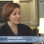 Interview: City Council Speaker Christine Quinn