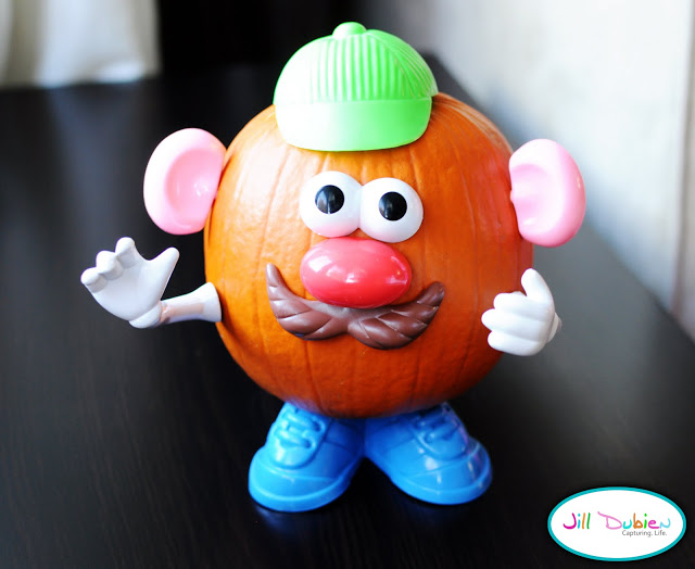 17 Creative No Carve Pumpkin Decorating Ideas mr potato head pumpkins