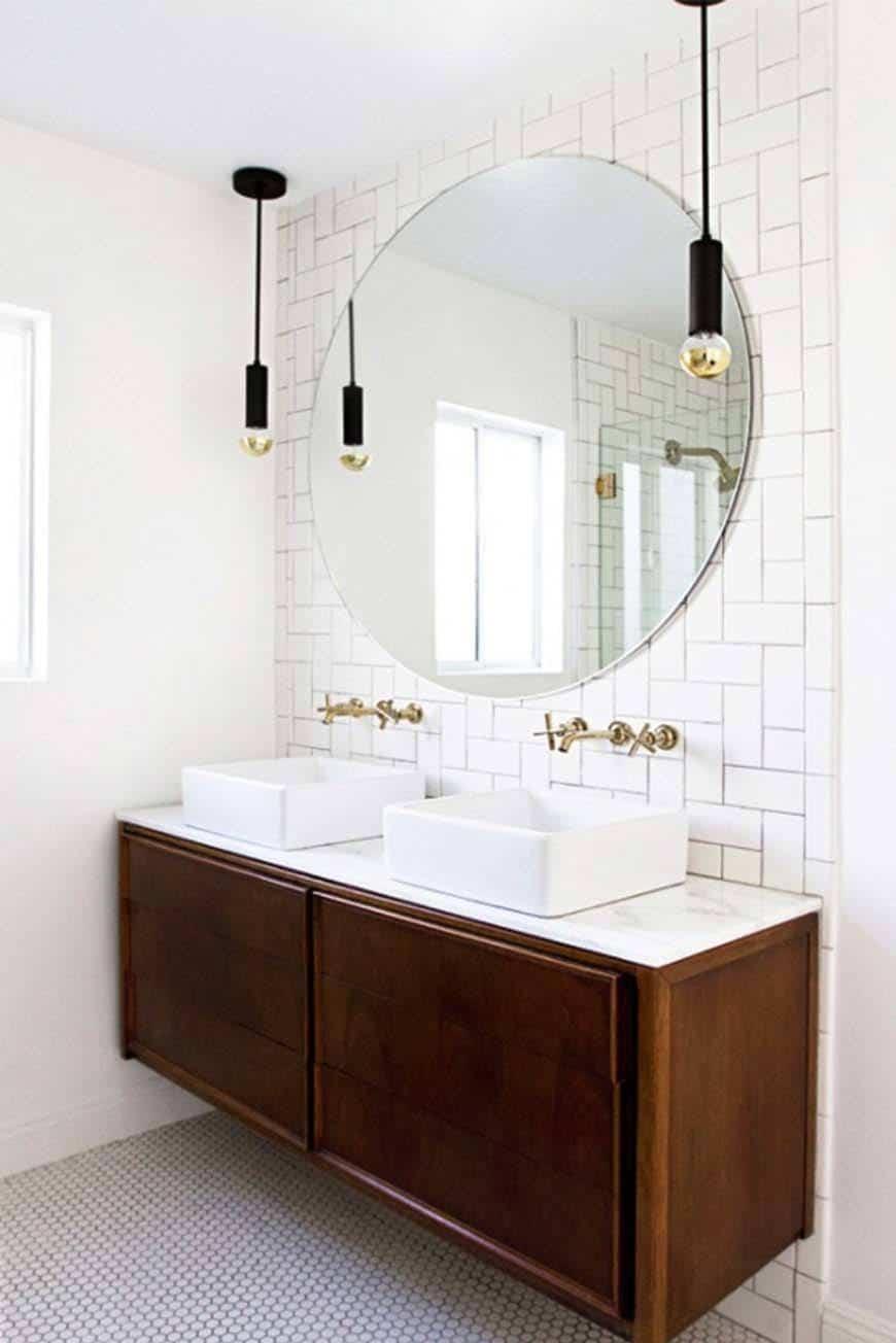 Smothery Bathroom Kindesign Bathrooms To Soak Your Senses Bathroom Lighting Canada Bathroom Lighting Sconces houzz 01 Modern Bathroom Lighting