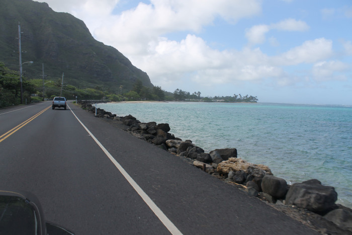"5) People from Hawaii don't use traditional words when giving directions – we use ""mauka,"" or toward the mountains and ""makai,"" meaning towards the sea."