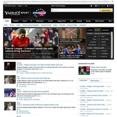 Yahoo! UK & Ireland Eurosport - Sports News | Pearltrees