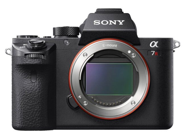 Sony A7R II Front