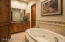 Private bath for Guest Suite #1