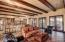 Great Room with wood beamed ceilings