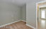 Large walk-in master closet is left a blank canvas as we know you will want to personally design something that functions for your lifestyle.