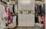 Custom-built Closet with Plenty of Storage