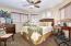 Bedroom 3 with extra windows