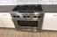Commercial grade KitchenAid dual fuel range - amazing!